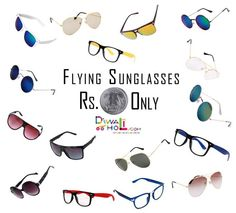 #DiwaliHoli Largest Range of #Sunglasses. Priced at Rs 1 Only.  For order booking, Call us on 011 6566 6565, 6564 6565