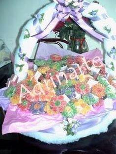 Fiz para um aniversário de 15 anos no final cada convidado recebeu uma florzinha com um tag de agradecimento