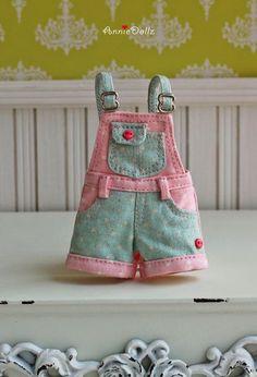 Molde de jardineira - Roupas para bonecas - Ver e Fazer
