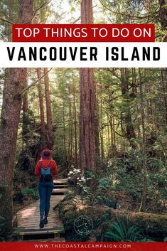This list includes 50 of the best things to do on Vancouver Island. Discover all the incredible activities Vancouver Island has to offer! Vancouver Island, Visit Vancouver, Vancouver Travel, Alberta Canada, Quebec, Places To Travel, Places To Visit, Canada Destinations, Holiday Destinations