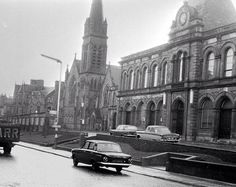 1960's- The old Town House and St Andrews Church on Newmarket Street