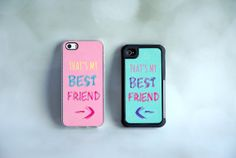 Matching Best Friend iPhone Cases + Best Friend Phone Covers on Etsy, $38.99