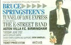 Tunnel of Love ticket, June 21, 1988
