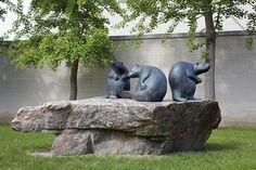 The RMG is dedicated to sharing, exploring and engaging with our communities through the continuing story of modern and contemporary public Canadian art. Canadian Art, Public Art, Garden Sculpture, Contemporary Art, Ann, Bronze, Gallery, Contemporary Artwork, Modern Art