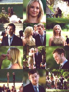Candice Accola and Joseph Morgan portray the characters of Caroline and Klaus respectively.....