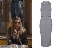 My Mad Fat Diary: Season 3 Episode 3 Chloe's Striped High Neck Dress