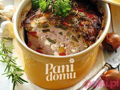 Pieczeń rzymska z warzywami - przepis -Przepisy kulinarne - przepis