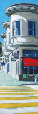 "Saatchi Art Artist Mo Maurice Tan; Printmaking, ""Lower Haight, San Francisco"" #art"