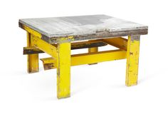 One Kings Lane - Fishs Eddy - 1960s Industrial Steel Table