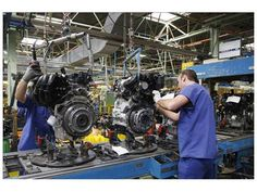 El INDEC admitió una baja en la producción industrial de casi 2% (Foto: Diario Uno) | En los primeros siete meses, la actividad manufacturera acumuló una caída del 1,2 por ciento. Leé la nota completa en http://www.lapampadiaxdia.com.ar/2012/08/el-indec-admitio-una-baja-en-la.html