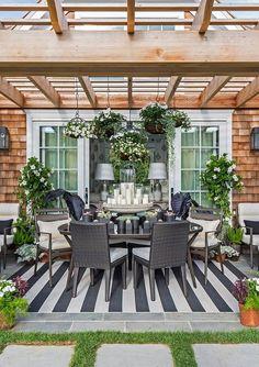 Hamptons, 20 Best Patio Spaces via A Blissful Nest