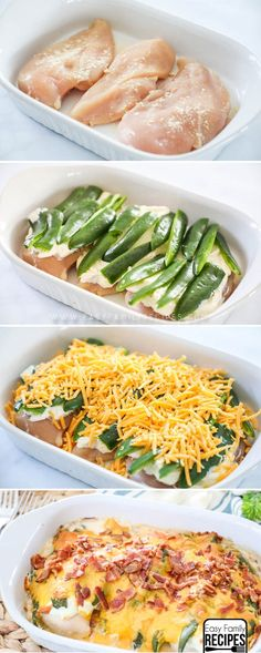 Best Dinner EVER! Jalapeno Popper Chicken Recipe. #recipes #dinner #chicken #lowcarb