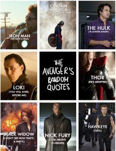 Random Avengers Quotes - hahah hawkeye :)