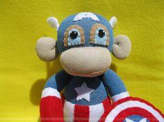 Obeah, VooDoo Sock Monkey Doll | Sock Monkeys, Monkey and Socks