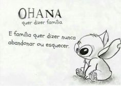OHANA means family. and family means never let it go or forget! Trying To Be Happy, Ohana Means Family, Lilo And Stitch, Disney Stitch, Cute Bunny, Some Words, Disney Love, Nerd, Geek Stuff
