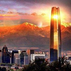 Costanera Mall e Costanera Center - Santiago Chile, Architectural Drawings, Latin America, Modern Architecture, Skyscraper, Beautiful Places, Multi Story Building, Maps, Viajes