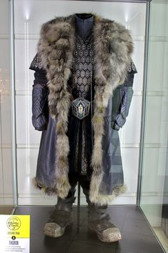 """From """"The Hobbit: An Unexpected Journey"""" (2012) worn by Richard Armitage as Thorin design by Bob Buck, Ann Maskrey and Richard Taylor"""