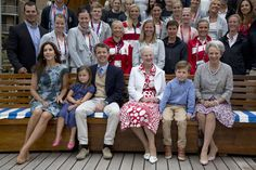 Denmark's mini royals get a taste of protocol aboard the royal yacht -