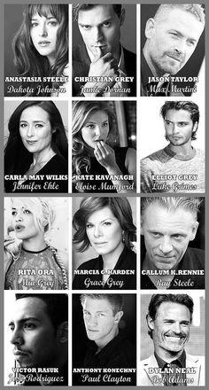 Fifty Shades of Grey Official Cast @B R O O K E // W I L L I A M S Williams Moro
