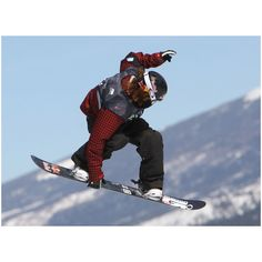 Shaun White Drops Out of Snowboard Slopestyle ❤ liked on Polyvore