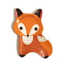 Super cute ceramic fox plate design that we're working on. Can also hold small items like j