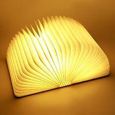 Light Book Folding Light Book#lumio Led Book Lamp#woody Book Lamp#home