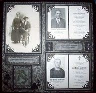 scrapbook ideas genealogy - Google Search