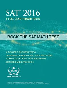 The SAT math test is part of the new SAT and challenging to master. Here are the strategies you need to know to be successful on the SAT Math Test. Math Practice Test, Math Test, High School Chemistry, High School Science, Learn Math Online, Sat Math, Sat Prep, College Board, College Tips
