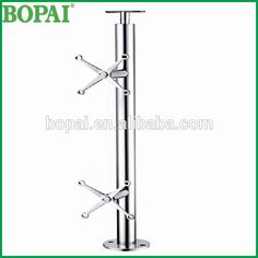 Australia solid 1120mm height stainless steel 304 spider fitting post