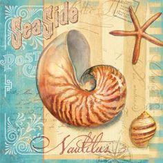 Ocean Nautilus by Geoff Allen. Gallery wrap by InGallery.com