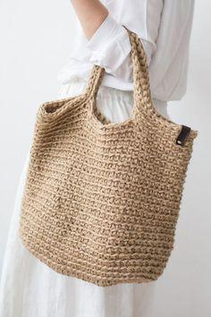 Crochet Tote, Crochet Handbags, Knit Crochet, Net Bag, Boho Bags, Summer Bags, Knitted Bags, Handmade Bags, Purses And Handbags
