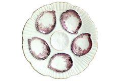 Antique Oyster Plate on OneKingsLane.com