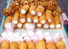 gaznates, muéganos y merengues. dulces mexicanos