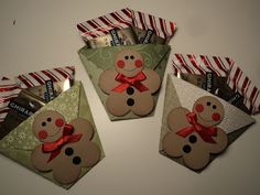 Card Corner by Candee: Ghirardelli Treat Holders