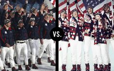 2010 USA Uniforms vs. 2014 USA Uniforms
