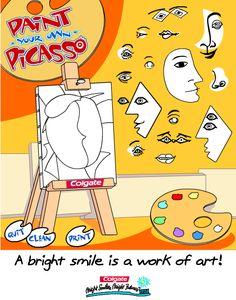 http://www.colgate.com/app/Kids-World/US/Games-And-Activities.cvsp?Game=Picasso  Programa para pintar al estilo de Picasso