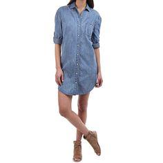 Rag and Bone Denim Shirt Dress