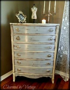 Dresser for a Shabby Chic little girls room