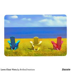Lawn Chair Vista Floor Mat