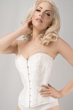 c694d08b08 White Expert Waist Training Underbust Bridal Corset - 20