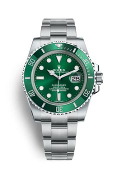 Buy your submariner watch Rolex on Vestiaire Collective, the luxury consignment store online. Second-hand Submariner watch Rolex Green in Steel available. Rolex Datejust Ii, Rolex Submariner No Date, Rolex Submariner Verde, Submariner Watch, Rolex Oyster Perpetual, Rolex Watches For Men, Luxury Watches For Men, Sport Watches, Men's Watches