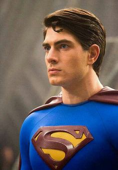 Brandon Routh as Superman in Superman Returns. 2006.