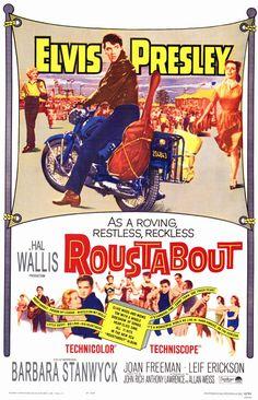 roustabout movie poster  Huoleton Kulkuri 1964