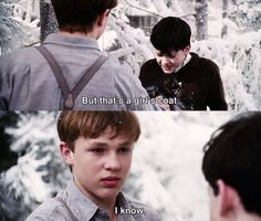 Typical older brother! The Chronicles of Narnia: The Lion, the Witch and the Wardrobe Narnia Movies, Narnia 3, Movies Showing, Movies And Tv Shows, Movie Quotes, Boy Quotes, Family Quotes, Big Brother Quotes, The Valiant