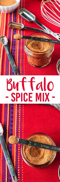 Buffalo Spice Mix - a customizable spice blend with zing! Perfect to season chicken, eggs, vegetables, and more.