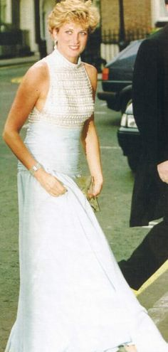 May 6, 1992: Princess Diana at a Gala evening at Spencer House in aid of The London City Ballet London.