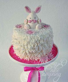 """Happy Bunny"" Cake"