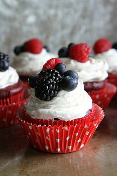 Red Velvet Cupcakes with Cream Cheese Frosting- Gluten Free and Vegan