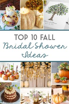 Top 10 fall bridal shower ideas in 2018 fall wedding shower Fall In Love Bridal Shower, Bridal Shower Party, Bridal Showers, Fall Wedding Showers, Baby Showers, Bridal Shower Planning, Wedding Planning, Bridal Shower Centerpieces, Marie