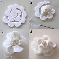 Flor em feltro